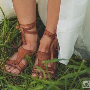Oliviera Wrap Sandals